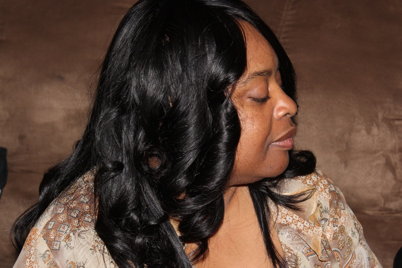 Full Sew-In with curls
